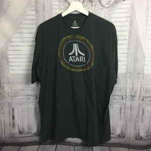 Atari Gray Tee Shirt 2X